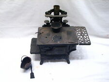 Antique Ornate Cast Iron Toy Cook Wood Stove American Salesman Sample Doll House