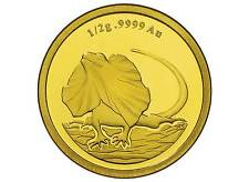 2013 SOLID GOLD FRILLED NECK LIZARD $2  99.99% PURE SOLID GOLD PROOF COIN RAM