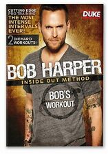Bob Harper - Inside Out Method : Bob's Workout (DVD, 2011) Brand New All Regions