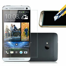 NEW REAL ANTI SCRATCH TEMPERED GLASS SCREEN PROTECTOR GUARD FILM FOR HTC ONE M7
