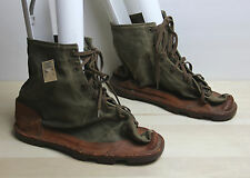 Vintage Circa WWII JJ CHABRAT French Military Ice Boots Size 57 Banana Republic