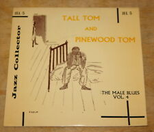 """TALL TOM AND PINEWOOD TOM BLUES 7"""" EP UK JAZZ COLLECTOR SERIES  JEL 5"""