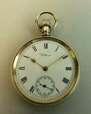ANTIQUE WALTHAM GOLD PLATED POCKET WATCH C.1930
