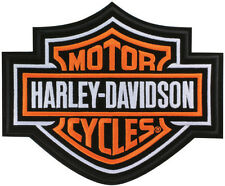 "Harley-Davidson Aufnäher/Emblem ""BAR + SHIELD"" Patch sehr groß *EMB302386*"