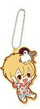 Free! - Iwatobi Swim Club Nagisa Eternal Summer Rubber Key Chain NEW