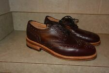 J CREW WOMEN'S OXFORDS SANDERS GIBSON BROGUES SHOES US 7 ENGLAND B1245