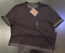 NEW Louis Vuitton Damier Medium Black Short Sleeve T-shirt. SOLD OUT WORLDWIDE!!