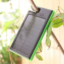 12000mAh Dual USB Solar Power Bank Dustproof Battery Charger For Universal Phone