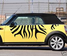 Car Decal Vinyl Graphics Side Stickers Zebra Stripe for MINI cooper #12
