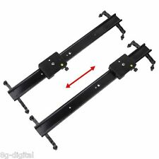 "Studio 24"" 60cm DSLR DV Camera Track Dolly Slider Video Stabilizer System"