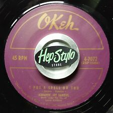 SCREAMIN JAY HAWKINS 45 RE- I PUT A SPELL ON YOU - CLASSIC 50S OKEH R&B