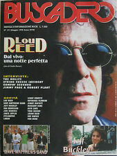 BUSCADERO 191 1998 Lou Reed Jimmy Page Robert Plant Mollys Patinkin Jeff Buckley