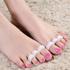 Silicone Gel Toe Separator Feet Care Bunion Guard Foot Hallux Valgus 1Pair
