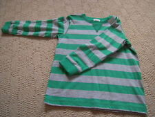 BNWT Green and Grey Long Sleeved Top  by Next in Size 4 to 5 yrs (height 110cm)