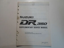 1994 Suzuki DR350 Supplementary Service Manual STAINED 995014302003E FACTORY