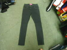 """George Skinny Jeans Size 10 Leg 30"""" Black?Blue Yellow Dot Faded Ladies Jeans"""