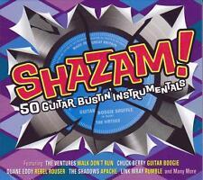 SHAZAM! - 50 GUITAR BUSTIN' INSTRUMENTALS (NEW SEALED 2CD)
