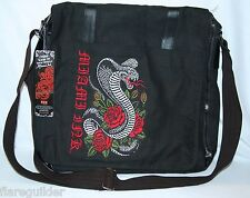 Miami Ink Cobra Snake Tattoo NWT Messenger Bag NEW Tattoo TV Kat von D