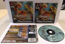 Console Gioco Game PS1 Playstation PSOne PSX Play PAL - WARPATH JURASSIC PARK -