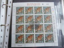2010 Ireland RDS Stampania Show Souvenir Chinese Tiger Sheet Numbered 19