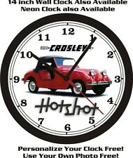 CROSLEY HOTSHOT WALL CLOCK-FREE USA SHIP!