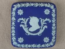 ROYALTY ANTIQUE WEDGWOOD JASPERWARE PORCELAIN BOX QUEEN VICTORIA GOLDEN JUBILEE