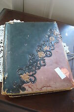 1800's ANTIQUE scrap book