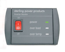 Sterling 'Inverter monitor' remote panel for all SIB inverters        SWR