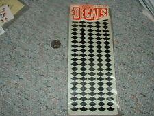 Flex-Cote Trimmit  Decals 1/24 1/25 various Black Diamonds 3 sheets  C104