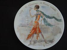 D'ARCEAU LIMOGES LES FEMMES DU SIECLE  COLLECTOR PLATE - Daisy 1925