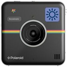 Black Polaroid Socialmatic Instant Camera, WiFi, Bluetooth and 3 month warranty