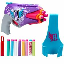 NERF Rebelle Secret & Spies 4 Victory One Hand Blaster Gun With Holster