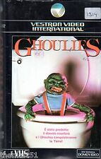 GHOULIES  (1985) VHS  Vestron Video 1a Ed.