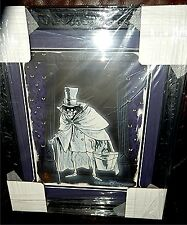 Disney Haunted Mansion Hat box Ghost LE 300 Hand Painted Framed Ink & Paint Cel