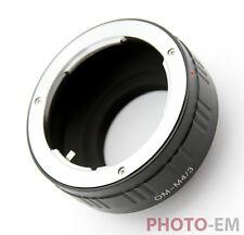 Adapter von Olympus OM auf Micro 4/3 Olympus Pen Panasonic Lumix G M4/3   Z-0621