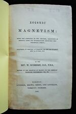 ZOISTIC MAGNETISM by William Scoresby 1849 Scarce 1st Edition Mesmerism