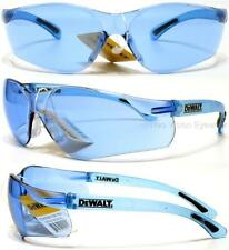 Lot of 3 Pair Dewalt Contractor Blue Lens Safety Glasses Sunglasses Z87+