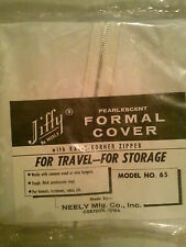 Formal Clothes Vinyl 9.99 Cover with Zipper Travel or Storage