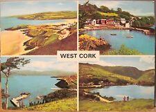 Irish Postcard WEST CORK Multiview Glengarriff Bantry Ireland Noble Hinde 2/358