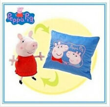 MAGIC TOY PEPPA PIG HUG AND SNUGGLE TOY AND PILLOW / CONVERTS TO PEPPA PLUSH TOY
