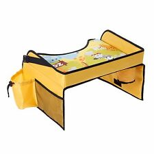 Kids Travel Snack Play Tray Lap for Car Seat Table Tidy Portable New Childs Baby