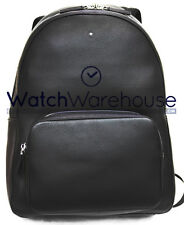 Montblanc City Bags Meisterstuck Soft Grain Black Backpack 113950 New in Box
