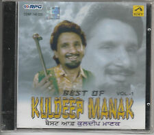 best of kuldeep manak  vol 1   [cd] rpg made in india