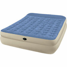 """Intex Queen 18"""" Raised Built in Pillow Rest Airbed Inflatable Mattress BRAND NEW"""