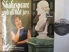 TL5209 Cleo Laine - Shakespeare & All That Jazz - 1964 LP