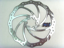 New TEKTRO MTB Wave Designed 203mm Disc Brake Rotor,6 bolts included 203-1