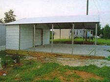 20' X 26' X 8' COMBO Carport & Garage FREE DEL. & INSTALL  (Pick-up available)