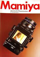 Mamiya RZ67 Professional Prospekt brochure - (0368)