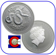2013 Lunar Snake 1 oz Silver Coin, Series II from Perth Mint in Australia