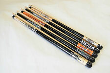 SET OF 5 CAROM CUES New Canadian Maple Carom Billiard Cue Stick FREE SHIPPING